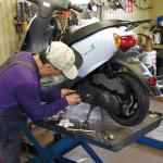 自転車・バイクの点検修理