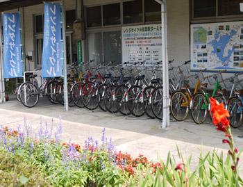 自転車のレンタル